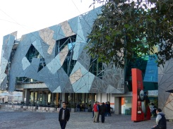 Federation Square from Flinders St
