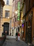 Rome - evening passeggiata