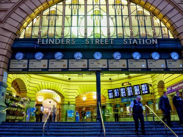 Flinders St clocks