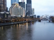 Southbank and river