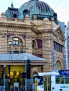 Flinder St station