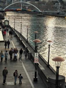 Southbank promenade