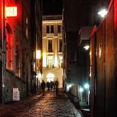Red laneway