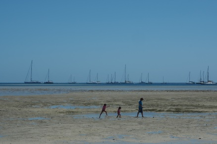 Musket Cove at low tide